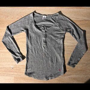 Victoria Secrets Long Sleeve button blouse